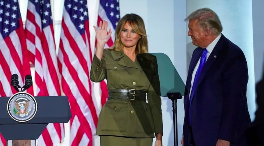 Donald Trump and Melania Trump test positive for coronavirus, (Reuters)