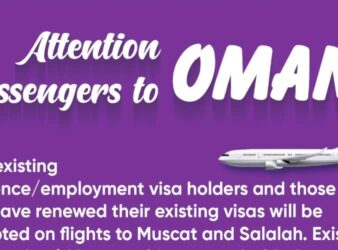 new visa holders to oman