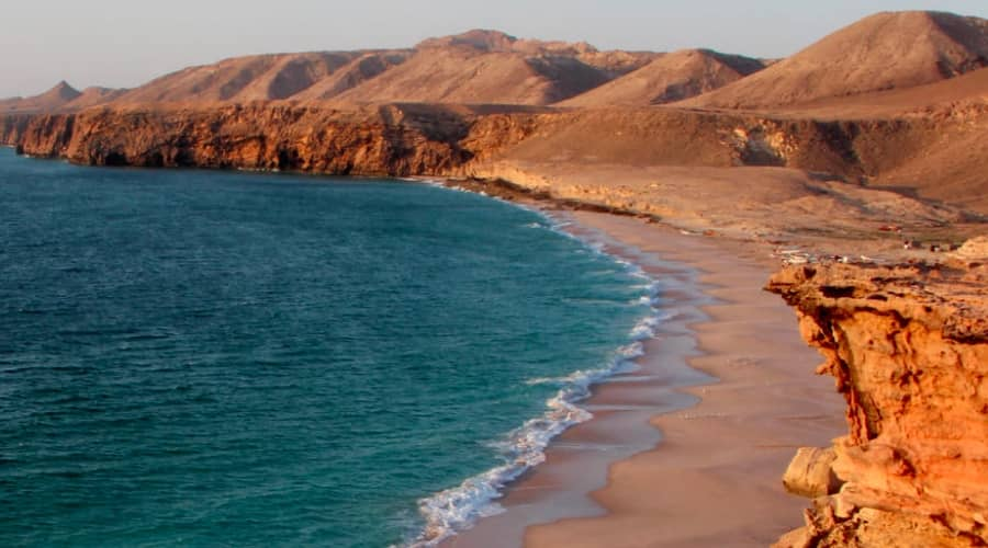 Ban on beaches in oman