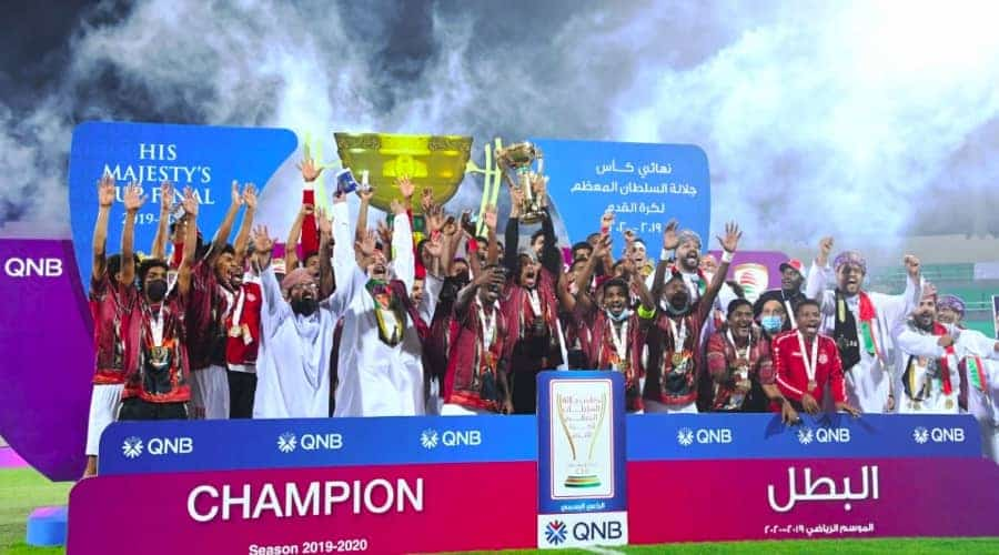 Dhofar crowned champion of His Majesty the Sultan Football Cup