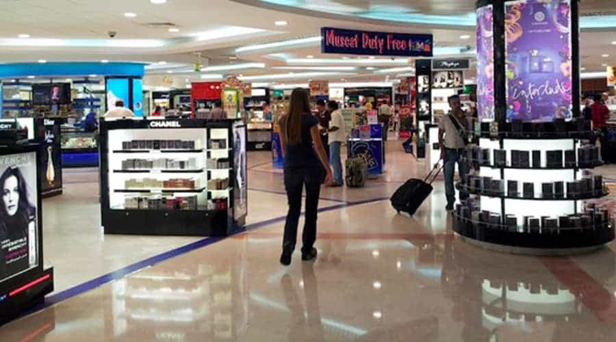 Image Credit : muscat duty free before Covid