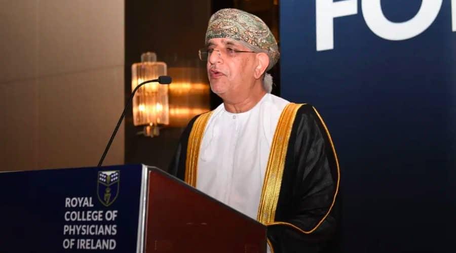 Omani doctor Dr Kazem bin Jaafar Al Lawati